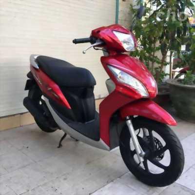 xe Honda Vision FI màu đỏ, mới nguyên