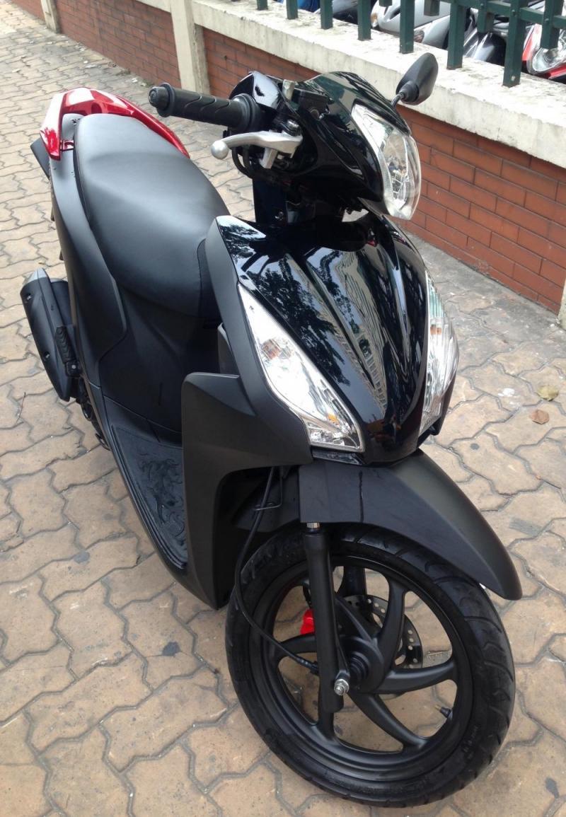 Honda Vision đen nhám đb bs đẹp huyện trảng bàng