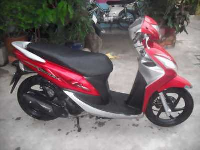 Vision 110 Fi màu đỏ đen tháng 12 năm 2012 bstp