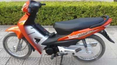 HONDA wave Anpha 110cc ,màu cam xe keng