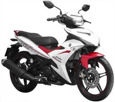 Yamaha Exciter côn tay trắng xanh 2014 bstp