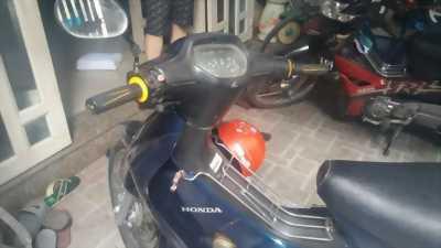 Honda Wave Alpha đời 2003, màu xanh, 10tr5