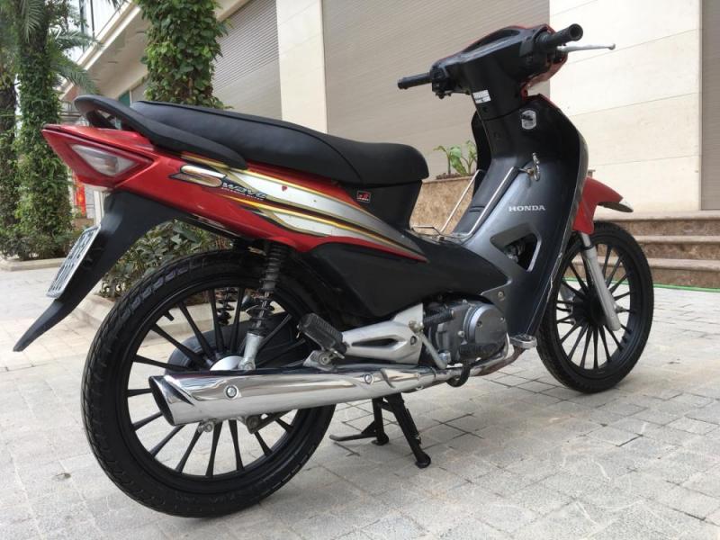 Honda Wave rsx 100 màu đỏ đen