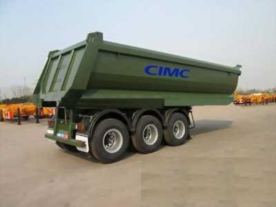 Cần bán Mooc ben tải tự đổ CIMC 3 trục thùng 24m3