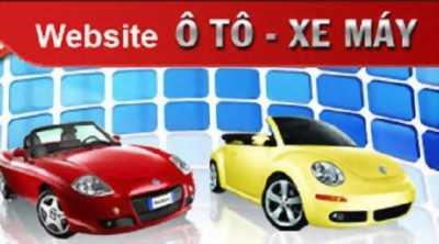 Thiết kế website ô tô xe máy giá rẻ