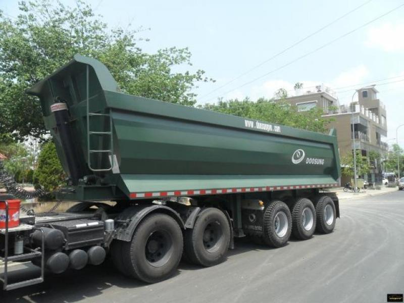 Bán xe Rơ Mooc Ben Doosung 2017-28 tấn