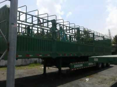 Doosung Miền Nam bán Mooc lồng 3 trục 40 feet tải 30,2 tấn