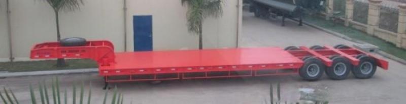 Đại lý bán mooc lùn 16m sàn 8m Doosung 3 trục