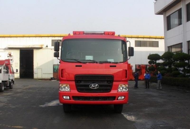 Bán trả góp Xe chữa cháy Hyundai lãi suất ưu đãi