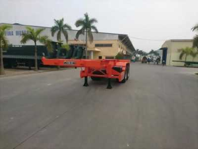 Nhà phân phối Rơ Mooc xương 2 trục 40 feet tải 27 tấn