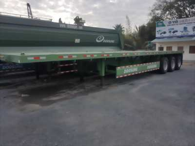 Doosung sàn chở container 3 trục-32 tấn