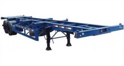 DOOSUNG Rơ mooc Xương chở container 2  trục40feet- 27 tấn