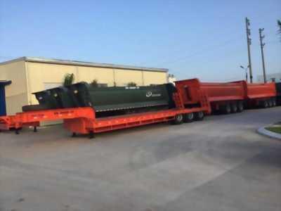 Lô xe mới Mooc Lùn 3 trục dài 16M Doosung Hàn Quốc