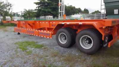 Mới về lô 10 chiếc mooc Doosung Xương 2 trục - 30 tấn