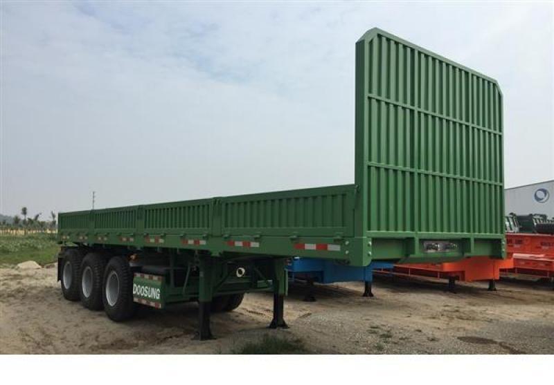 Cần thanh lý gấp Mooc Doosung chở container sàn dài 12m