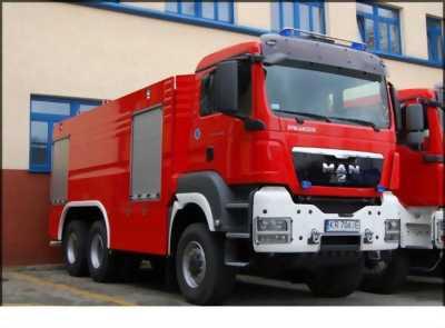 XE CHỮA CHÁY – Xe bồn chữa cháy MAN nhập khẩu Đức 2016