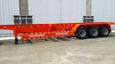 Mooc Sàn 31,8Tấn Chở Container Doosung Hàn Quốc. Xe mới