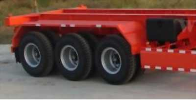 Mooc Xương chở container Doosung 3 trục-33.5 tấn