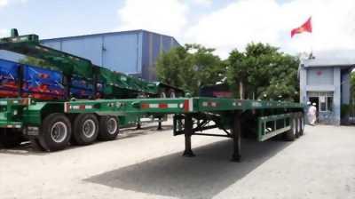 Bán trả góp Doosung chở container 3 trục - 32 tấn