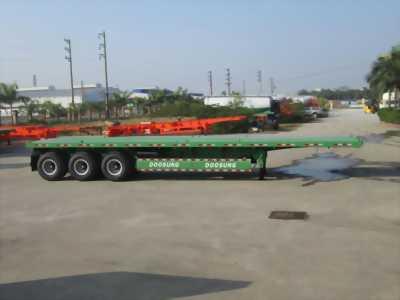Nhà phân phối Rơ Mooc Tải Chở Container 3 trục