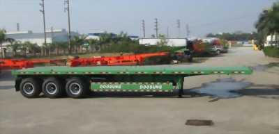 Phân phối mooc Doosung sàn phẳng 3 trục-31.8 tấn