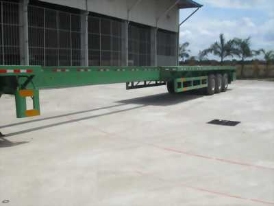 Bán gấp mooc sàn kéo dài 21,3M Doosung chở thép ống