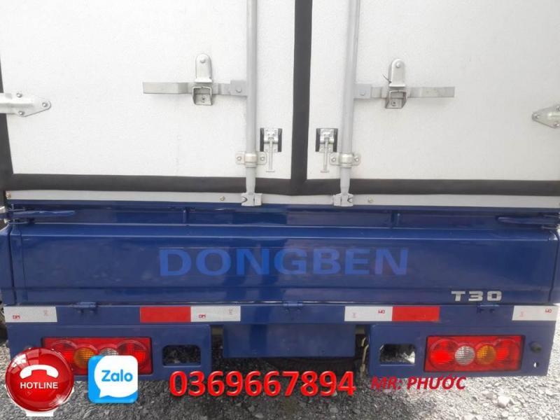 Xe dongben 990kg thùng dài 2m9