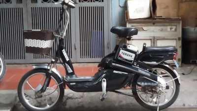 Xe đạp điện yamaha đen mới 95% còn nguyên bản