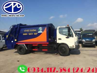 Xe ép chở rác 8 tấn 3 – mua xe ép chở rác giá cạnh tranh nhất thị trường