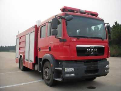 Bán Xe cứu hỏa MAN 4Khối, 6Khối, 8Khối đời 2016