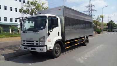 Xe tải isuzu 2 tấn 2 thùng mui bạt euro2, ga cơ