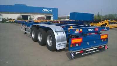 Mooc Xương CIMC 3 trục - 32.5 tấn - nhập khẩu nguyên chiếc