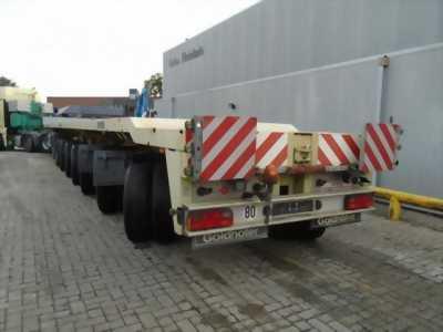Giá bán Sơ mi rờ mooc Sàn Goldhofer 270 tấn 6 trục