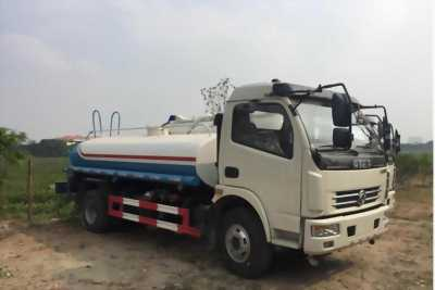 Xe phun nước rửa đường tưới cây Dongfeng 5 khối