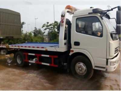 Xe cứu hộ giao thông Dongfeng sàn trượt