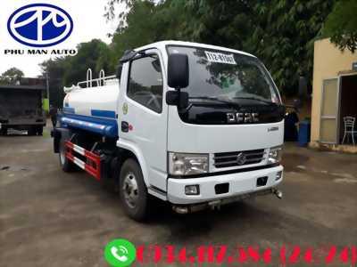 Xe phun nước Dongfeng 5 khối – Thông số kỹ thuật xe phun nước tưới đường