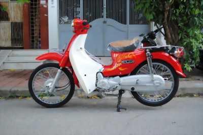 Xe Cub trắng đỏ