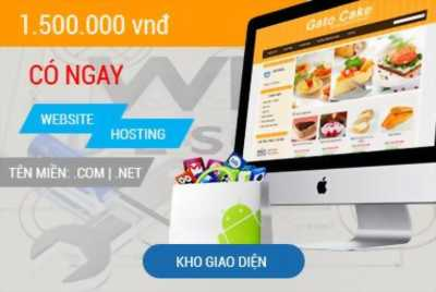 Thiết kế Website trọn gói với giao diện đẹp