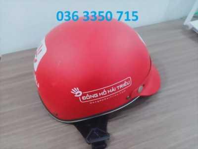 Cơ sở in ấn nón bảo hiểm quảng cáo , in ấn logo theo yêu cầu
