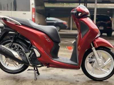 Honda SH 150i màu đỏ 2019