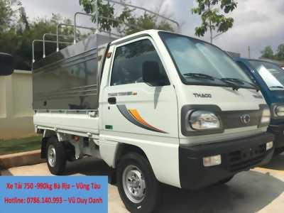 Xe Tải Thaco 750-990kg Bà Rịa - Vũng Tàu, Hỗ trợ vay trả góp thủ tục nhanh lãi suất ưu đãi - LIÊN HỆ NGAY