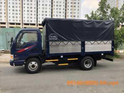 Xe tải JAC 2T4- 2019 thùng 4m3, máy ISUZU đưa 80tr lấy xe