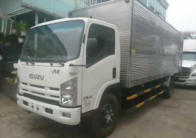 Xe tải 8T2, động cơ isuzu, thùng kín inox 2017