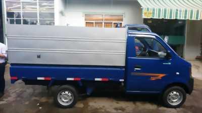 Xe tải 810kg euro 4, máy GM Mỹ, máy lạnh theo xe