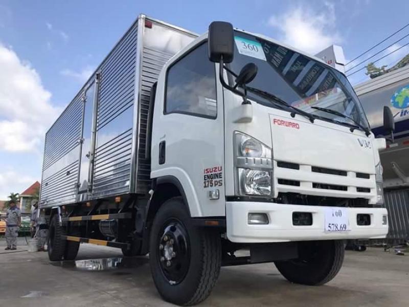 xe tải isuzu 8 tấn 2 thfung 7 mét