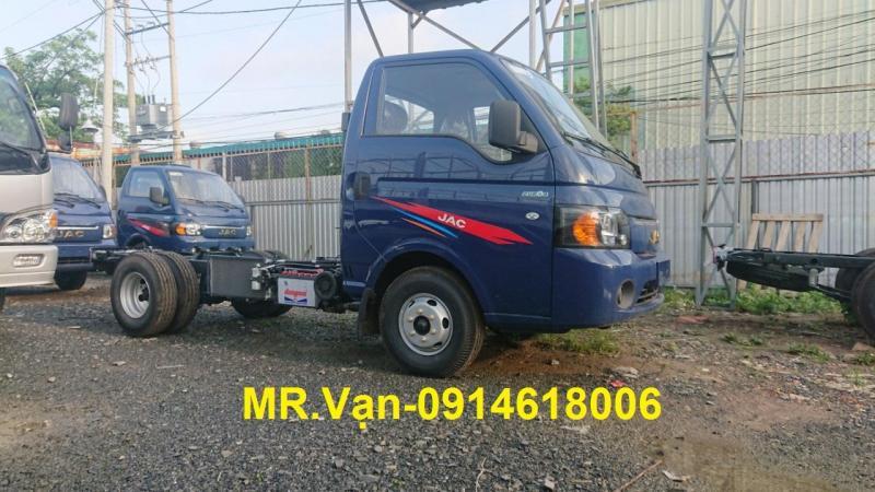 Đại lý bán lô xe tải JAC X5, loại 1t25 máy ISUZU giá cực tốt