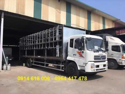 Đại lý bán xe tải DONGFENG B180 thùng dài 9m5 chuyên chở xe máy