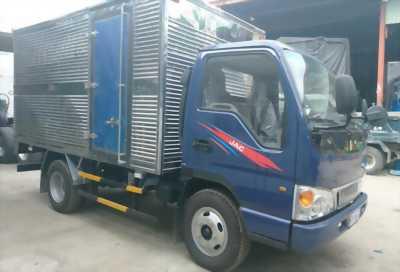 Xe tải JAC 4T95 thùng kín inox, công nghệ ISUZU
