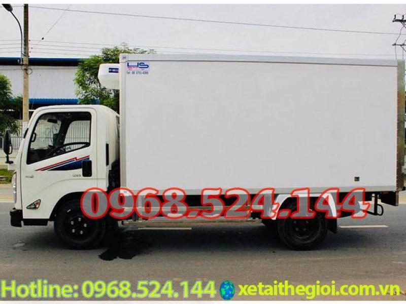 Bán xe tải IZ65 2t5 | xe tải đô thành iz65 3t5 | iz65 thùng đông lạnh, cam kết giá ưu đãi nhất thị trường