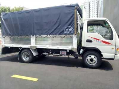 Xe tải JAC 2T4 thùng 4m3 máy Isuzu trả trước 60tr nhận xe